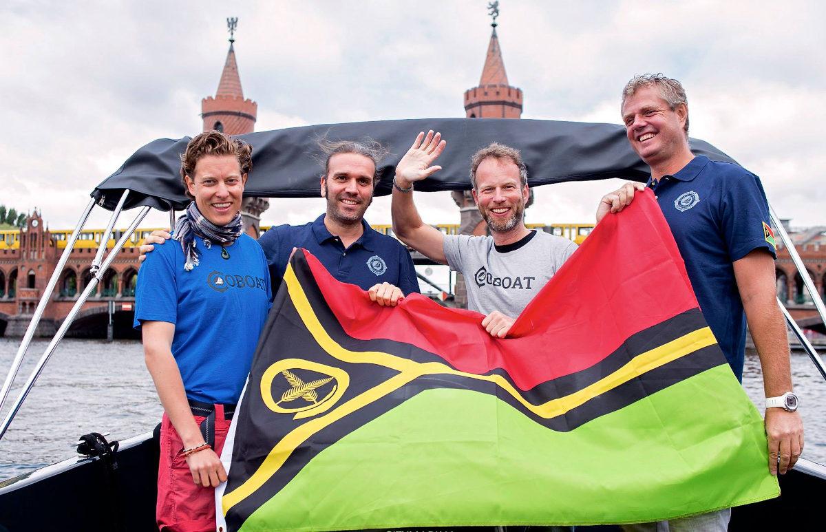 Seit letzter Woche steht fest: Das Coboat wird unter der Flagge Vanuatus segeln
