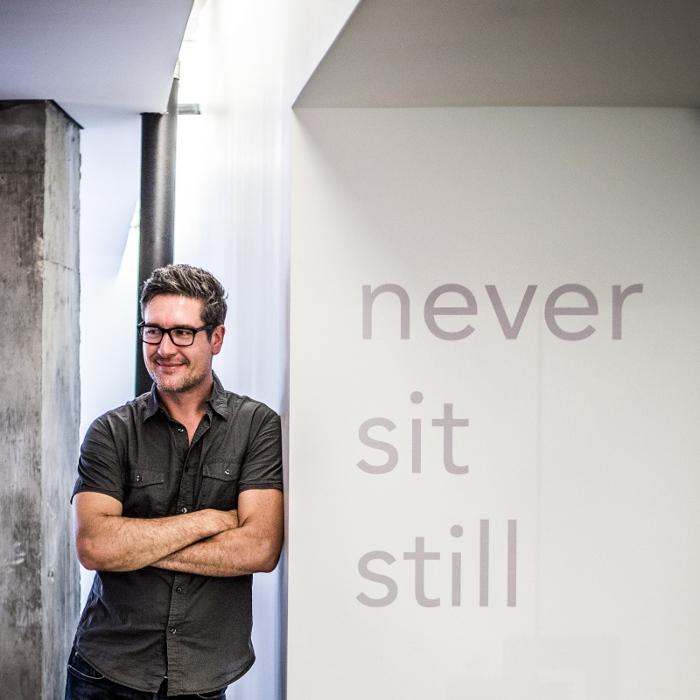 Hat den Trend zur Digitalisierung früh erkannt: Grafikdesigner Aaron - Foto: privat