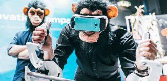 Wenn Affen sich durch virtuelle Realitäten bewegen, ist es Zeit für das YOTM - Foto: Year of the Monkey